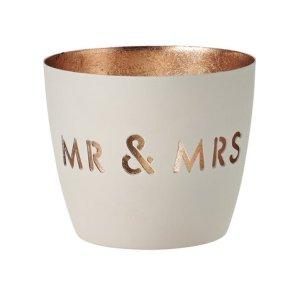 PAUL'S HOME Windlicht Mr & Mrs
